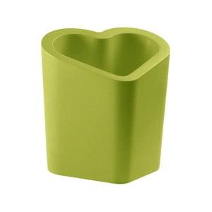 Zelený květináč Slide Mon Amour, 80x90cm