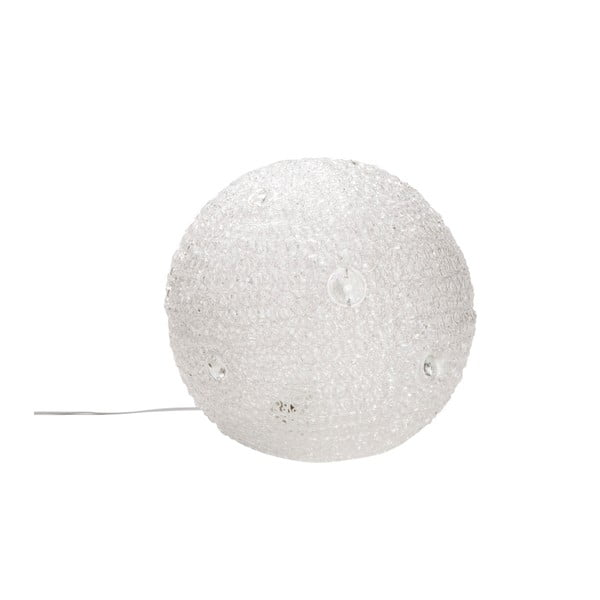 Bílá stolní lampa Mauro Ferretti Paralume, 30cm
