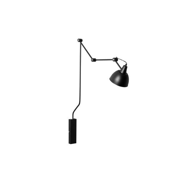 Černá nástěnná lampa Custom Form Coben