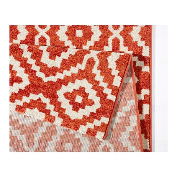 Oranžový koberec Schöngeist & Petersen Diamond Ornamental, 133 x 195 cm