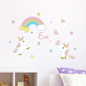 Nástěnná samolepka se jménem Ambiance 2 Baby Unicorns