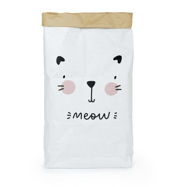 Pungă din hârtie reciclată Tanuki Meow