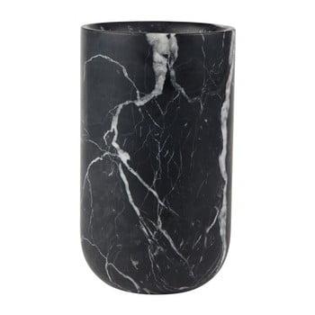 Vază din marmură Zuiver Fajen, negru de la Zuiver