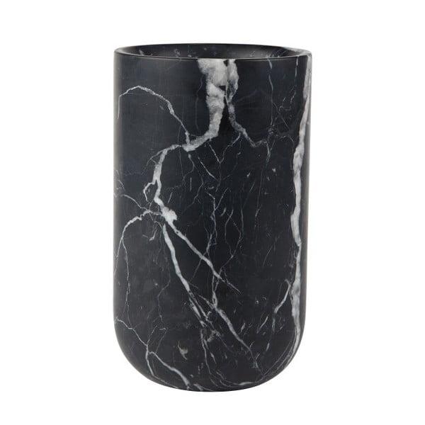 Fajen fekete márványváza - Zuiver