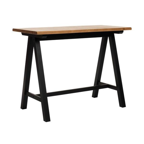 Barový stolek ze dřeva bílého dubu Unique Furniture Oliveto