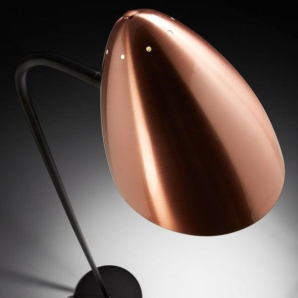 Stojací lampa v barvě mědi La Forma Baldi