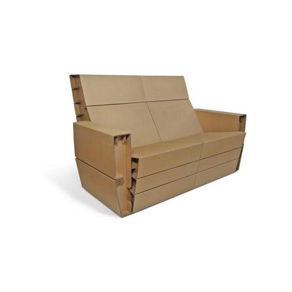 Kartonový gauč Coucher