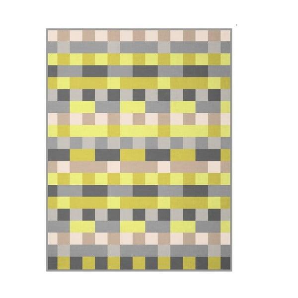 Deka Lime Check, 150x200 cm
