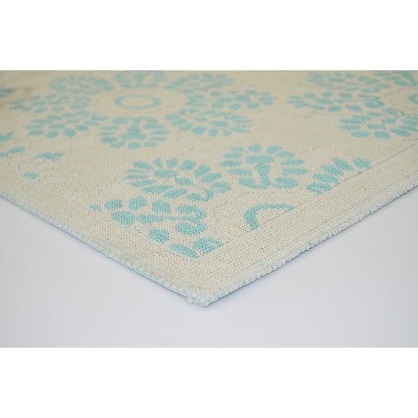 Modrý odolný koberec Vitaus Penelope, 80x150cm