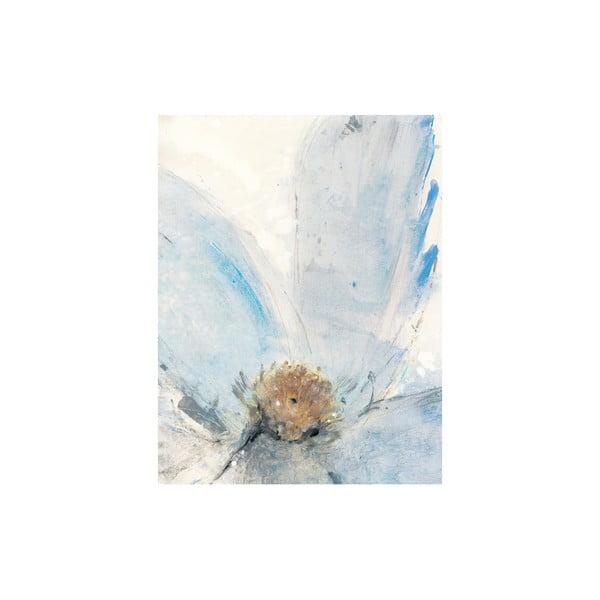 Obraz Floral Blue, 50x65 cm