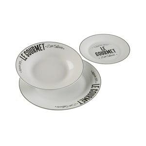 12dílná sada porcelánového nádobí Versa Gourmet