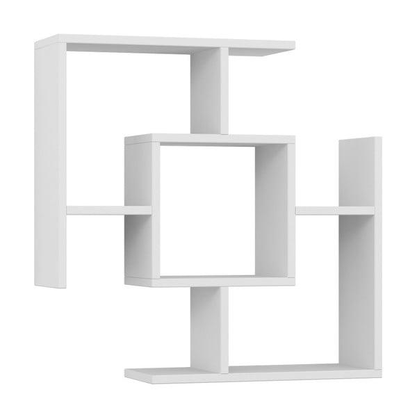 Raft de perete Homitis Parantez, alb