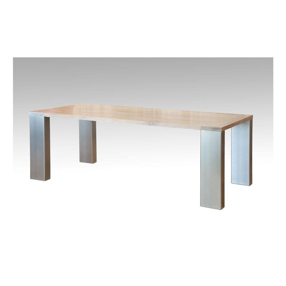 Jídelní stůl z dubového dřeva Castagnetti Montana, 200cm