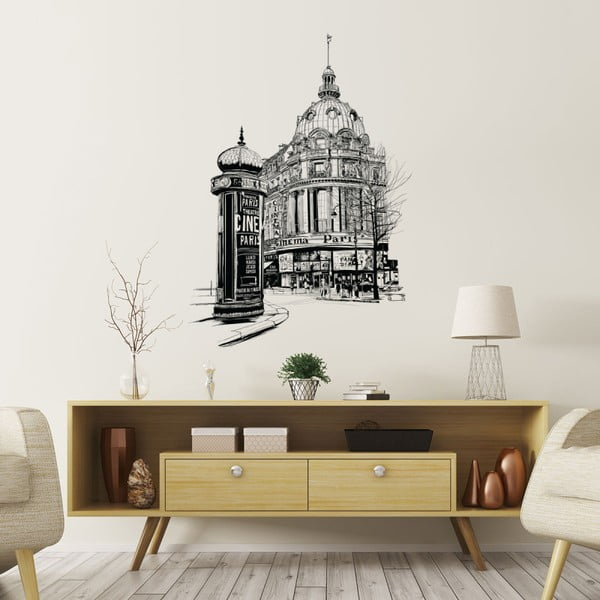 Naklejka ścienna Ambiance Wall Decal Paris the Racecourse, 85x60 cm