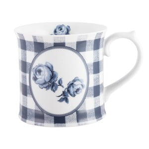 Porcelánový hrnek Creative Tops Gingham Floral, 400 ml