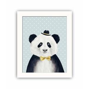 Dekorativní obraz Panda, 28,5x23,5 cm