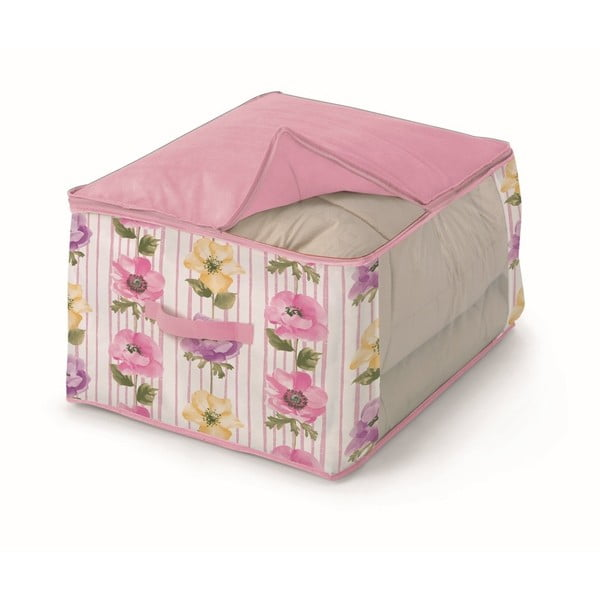 Růžový úložný box na přikrývky Cosatto Beauty, šířka60cm
