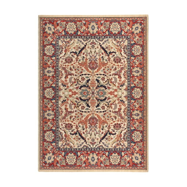 Vlněný koberec Ibai, 60x120 cm, béžový