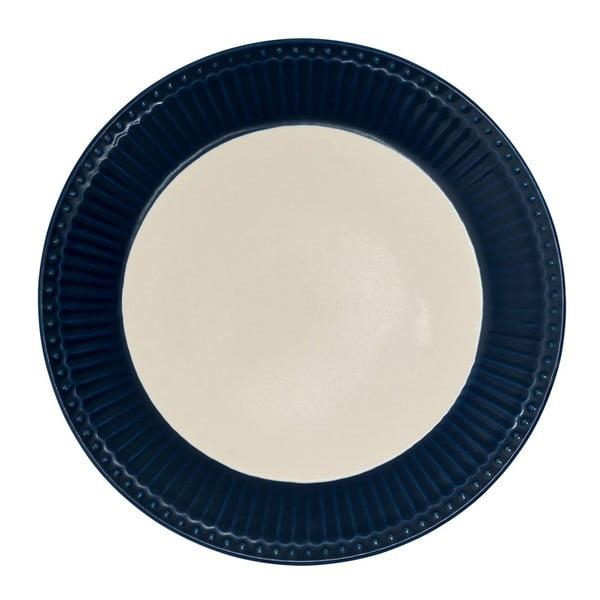 Farfurie Green Gate Alice, diametru 23 cm, albastru închis