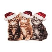 Rohožka Zala Living Christmas Cats Contour, 45x64 cm
