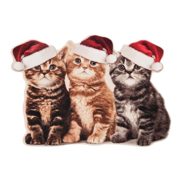 Preș Zala Living Christmas Cats Contour, 45 x 64 cm