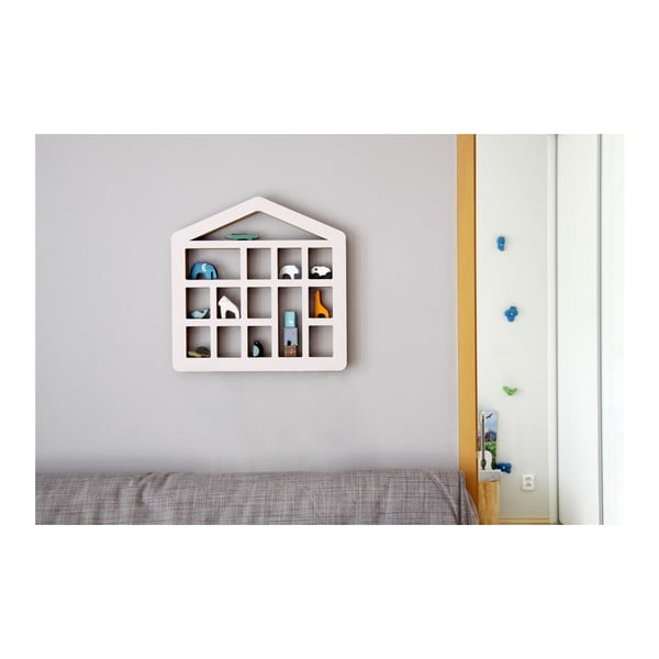 Polička Unlimited Design for kids Domek s okny