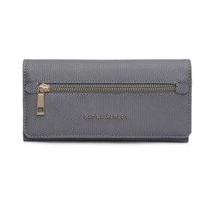 Šedá peněženka z koženky Laura Ashley Cecilia
