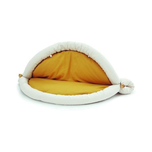 Multifunkční podložka Blandito 176 cm, žlutá