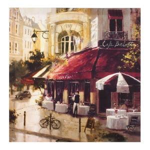 Obraz na plátně Café Berlotte, 50x50 cm