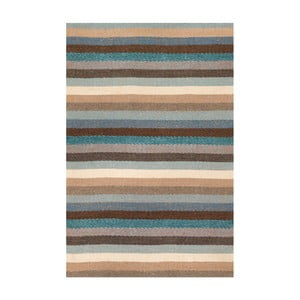 Ručně tkaný vlněný koberec Linie Design Caravan, 140x200cm