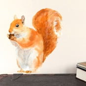 Autocolant refolosibil Red Squirrel Mini, 30x21 cm