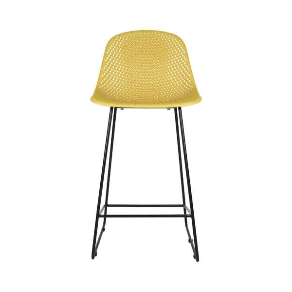 Diamond Mesh sárga bárszék - Leitmotiv