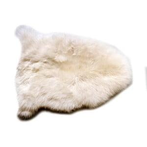 Bílá jehněčí kůže Cotex Pecora, 40 x 70 cm