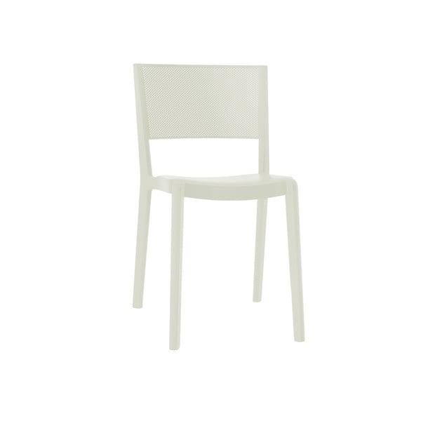 Sada 2 bílých zahradních židlí Resol Spot