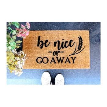 Preș Doormat Be Nice, 70 x 40 cm de la Unknown