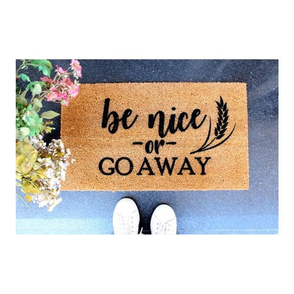 Preș Doormat Be Nice, 70 x 40 cm