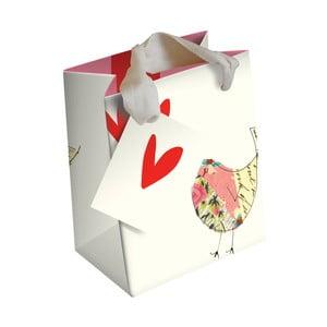 Dárková taška Caroline Gardner Bird And Hearts