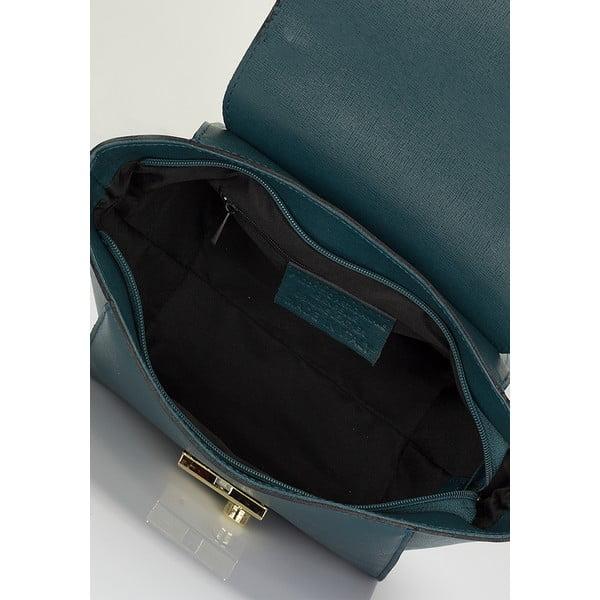 Kožená kabelka Lisa Minardi 2506 Teal