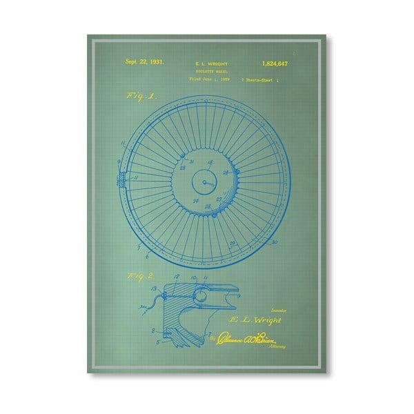 Plakát Roulette Wheel I, 30x42 cm