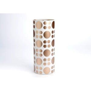 Váza Cylinder Golden Vase