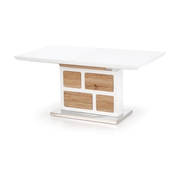 Rozkládací jídelní stůl v dekoru dubového dřeva Halmar Domus, délka160-220cm