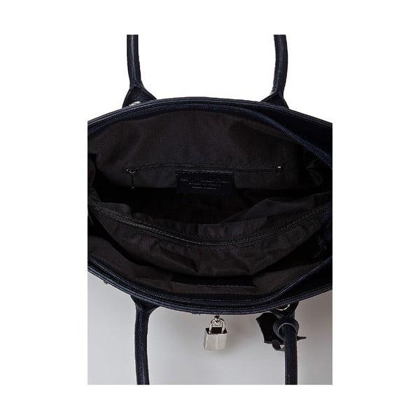Kožená kabelka Giorgio Costa 15019 Blue