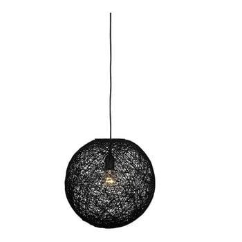 Lustră LABEL51 Twist, ⌀ 45 cm, negru