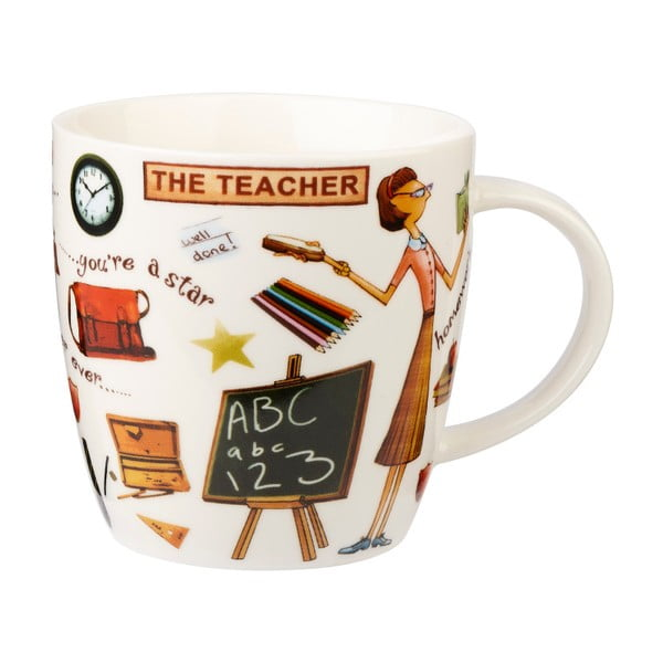Hrnček z porcelánu Churchill China The Teacher, 400 ml