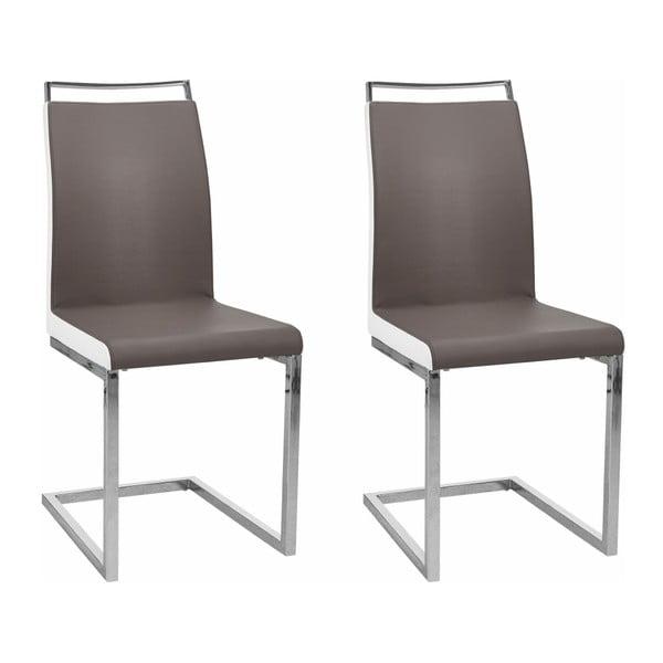 Sada 2 hnědých židlí Støraa Stark