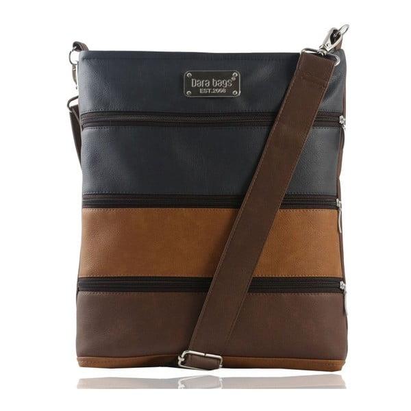 Tmavě hnědá kabelka Dara bags Dariana Big No.214