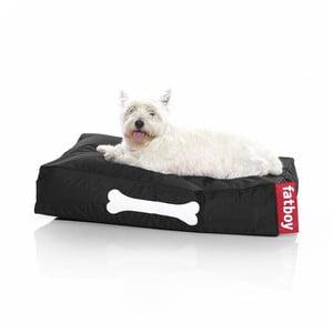 Černý pelíšek pro psy Fatboy Doggieloung, vel. S