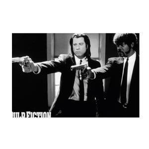 Fotoobraz Pulp Fiction, 81x51 cm