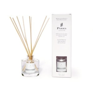 Difuzor de parfum Parks Candles London Purity, 250 ml, aromă de hibiscus, floare de lotus, orhidee și gardenie