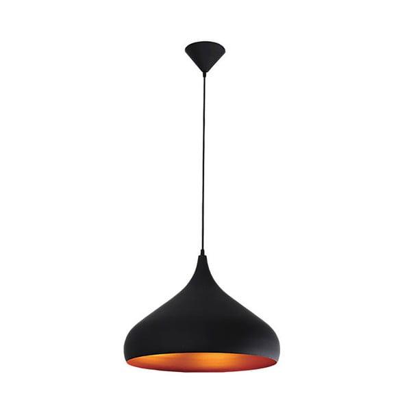 Závěsné světlo Tuba 42.5 cm, černé
